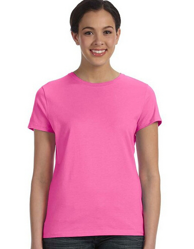 Women Good Quality Plain Blank Fitted T-shirt - Buy Blank Fitted T ...