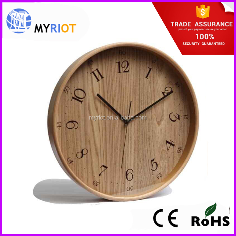 china logo wood wall clock china logo wood wall clock and suppliers on alibabacom