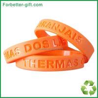 Christian debossed Silicone bracelets