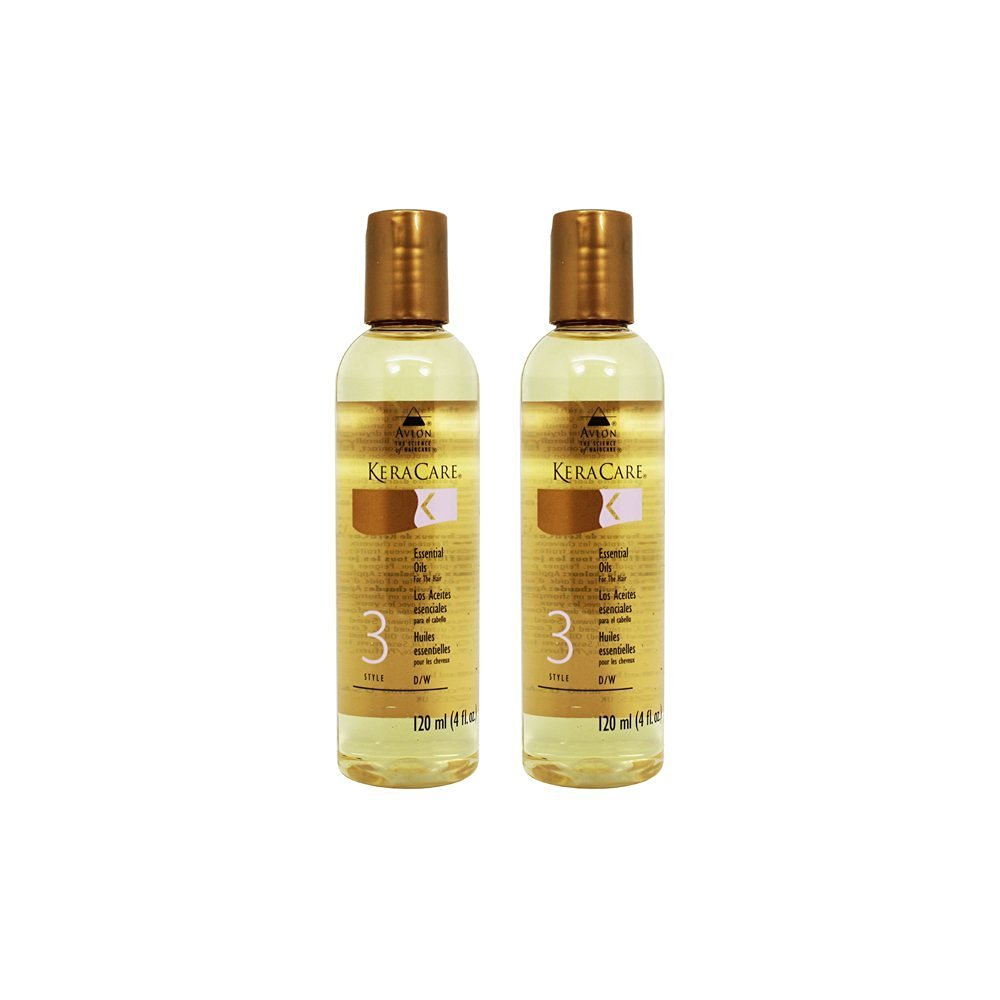 "Avlon KeraCare Essential Oils For The Hair 4 oz ""Pack of 2"""