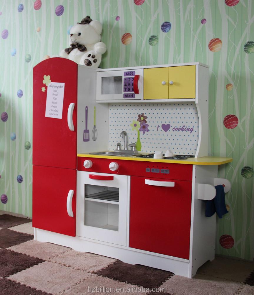 Ni os de madera juego de imaginaci n cocina juego de for Cocina infantil madera