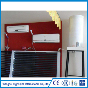 Fashion integrative nonpressurized balcony Pressurized Split Balcony Solar Water Heating System