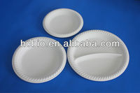 biodegradable 9inch round plates