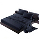 Bamboo Brushed Microfiber Ultra Soft Bed Sheet Set - Wrinkle Resistant - Twin Size - Stone