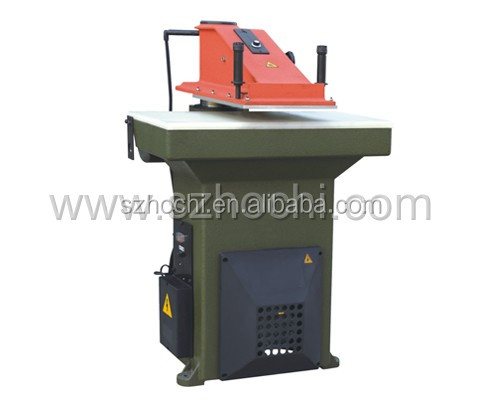Main Product Leather Gasket Cutting Machine,Swing Arm Clicker Press