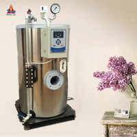 50kg/h 100kg/h low pressure Best price natural gas diesel oil fired small protable stainless steel steam generator manufacturer