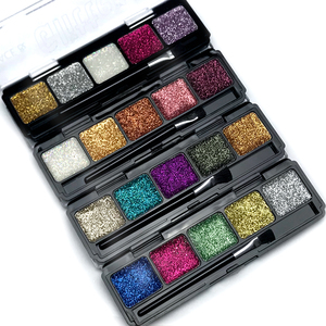 Sparkly High Pigment Private Label Makeup Glitter Eyeshadow Shiner