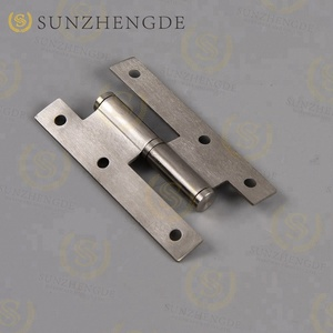 SAH-029 SS Hot sale H shape door hinge stainless steel hinge stainless steel toilet hinge