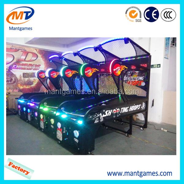 Indoor Arcade Hoops Cabinet Basketball Game/extreme Hoops ...