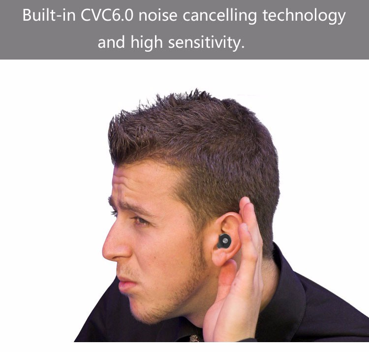New 4.2 compare lightweight best digital stereo headphones cordless phone headset earbud earphones