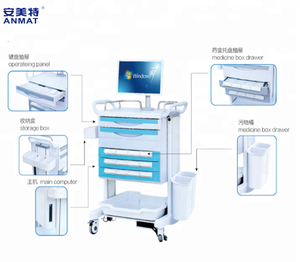 hospital medical mobile computer trolley JH-YD14 II