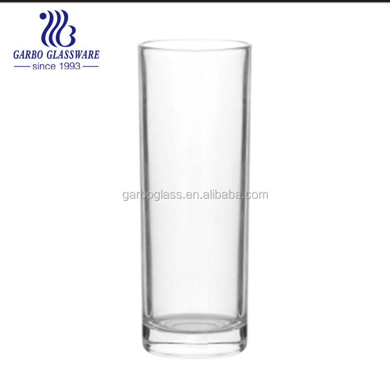 tall and thin drinking glass cup, straight drinking glass , all Drinking  Water Glassware Home