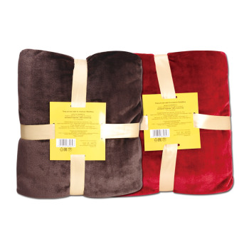 Ultra Soft Flannel Plush Queen Size Cozy Blanket