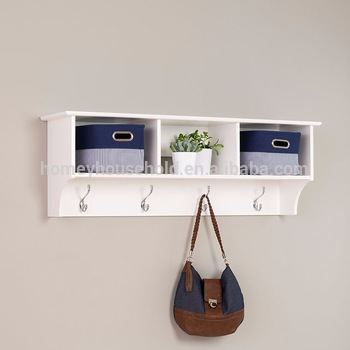 Small Decorative White Wooden Wall