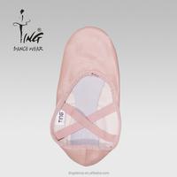 wholesale split sole leather soft ballet dance shoes