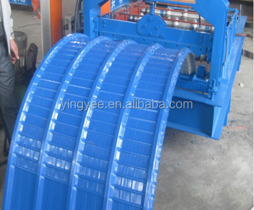 2015 Hot Sale !arch Roof Forming Machine/roof Panel Curving Machine/steel  Arch