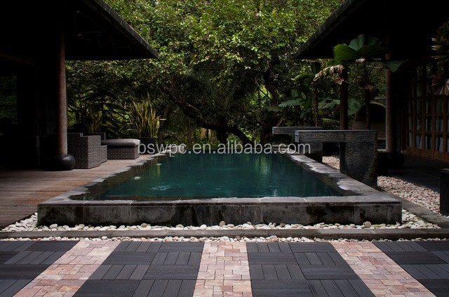 cheap swimming pool tile wpc tile