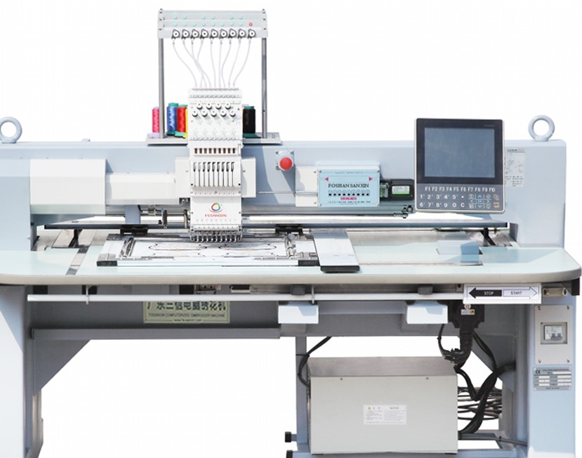 Hot sell head commercial beading embroidery machine from