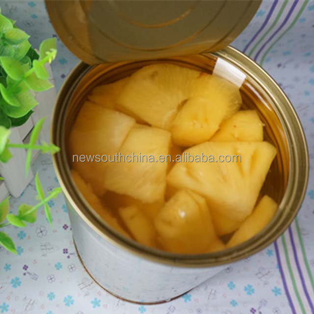 Brand pineapple in light syrup and heavy syrup