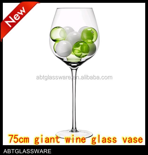 China Wine Gl Vase Manufacturers