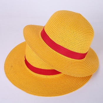 Kids mexican sombrero promotion cheap straw cowboy hats ribbon decoration 5c7427b22d2