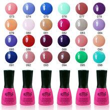Shellac pro UV lampy v různých barvách z Aliexpress