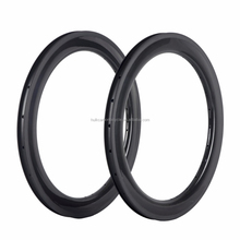 Carbon fiber 406 20 inch BMX Carbon Rims Clincher Bicycle Rims Carbon Wheels 20 inch Folding Bike Wheel