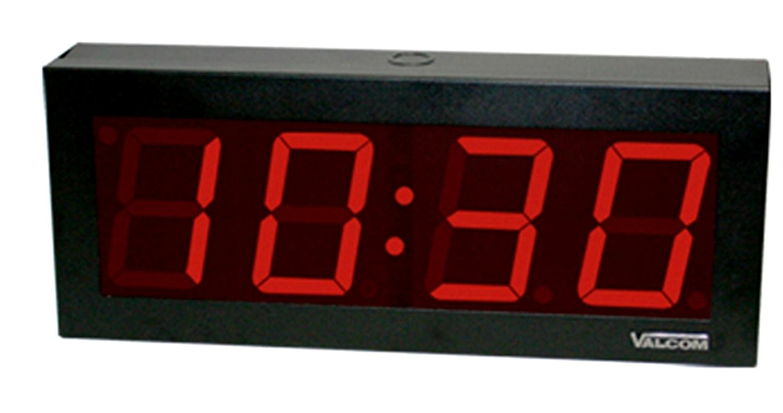 Valcom VIP-D440A IP POE 4 DIGIT, 4 INCH DIGITAL CLOCK