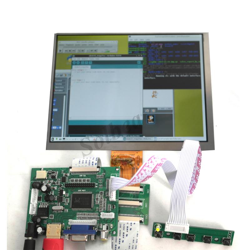 HDMI VGA 2AV LVDS LCD Display Controller Board Pi Kit for LCD Monitor/_chDT