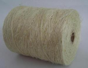 Nature sisal fiber and sisal yarn