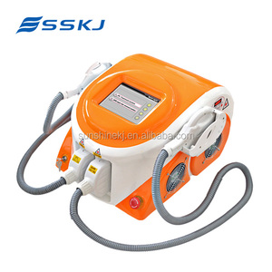 Imported lamp 6 in 1elight ipl hair removal korea rf electroporation machine
