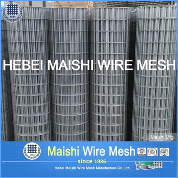 Rolled Welded Wire Fabric for Concrete