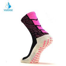 YUEDGE унисекс противоскользящие дышащие ватные футбольные носки, футбол, баскетбол, спорт(Китай)
