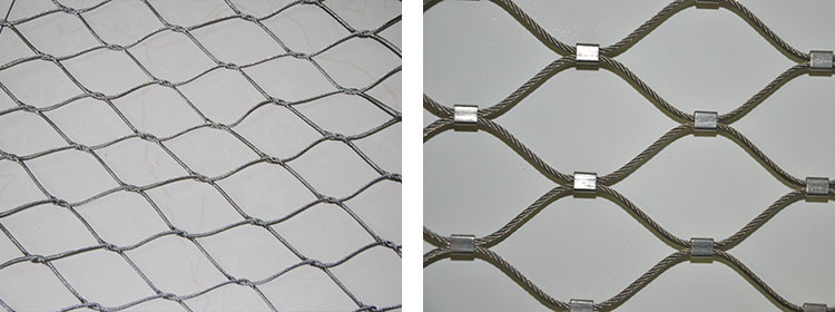 7x19 Flexible Stainless Steel Cable Net For Decoration