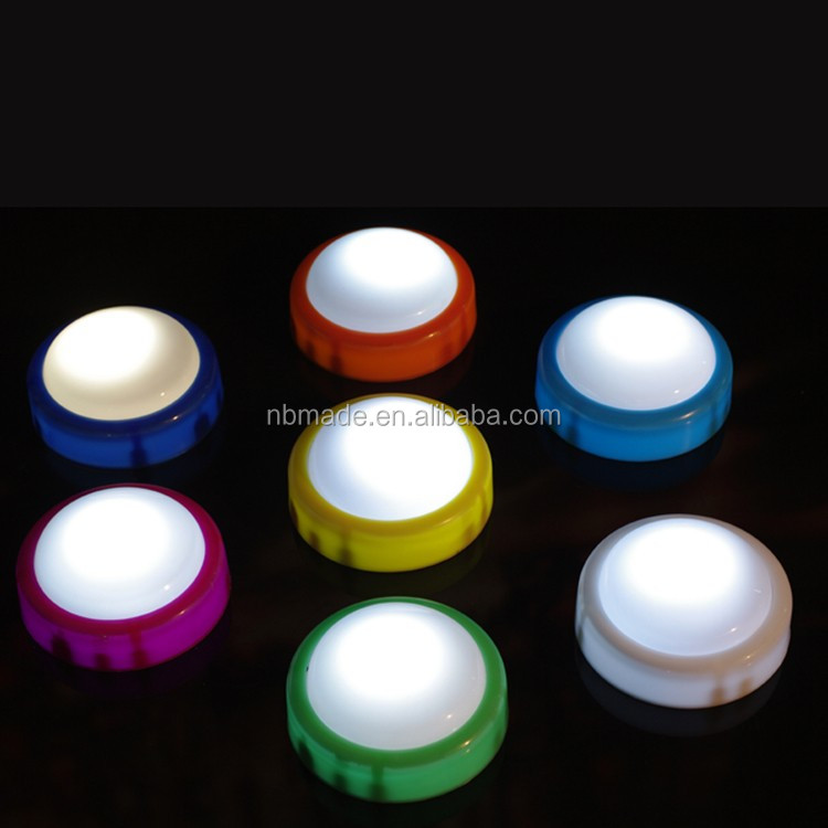 Own 20 Kind Items Shape Led Mini Touch Battery Operated Led Push ...
