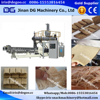 Soy meat processing line/textured vegetable soya protein making machines