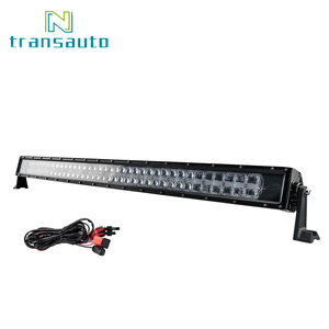USA Free Shipping 4x4 Trucks 42 Inch 360W 24 Volt Strobe Multi Color Led Light Bar with Mounting Brackets & Wiring Harness
