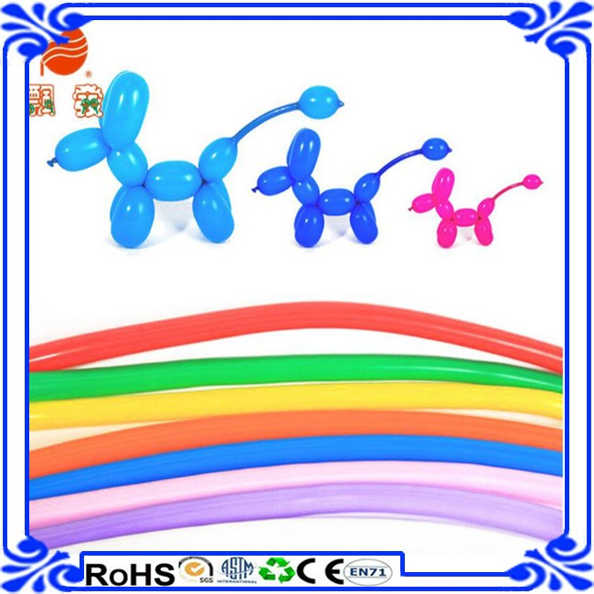 Hot selling Mixed Color Long Twisting Balloons Wedding Birthday Party DIY balloons latex balloon