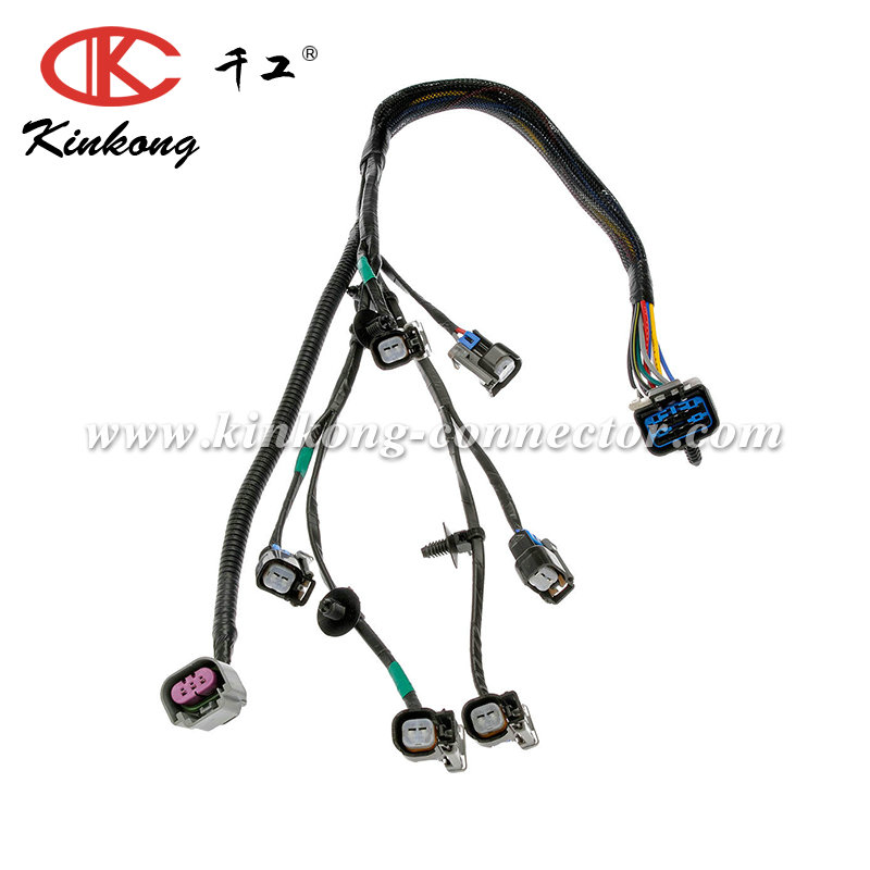 custom automotive fuel injector wiring harness