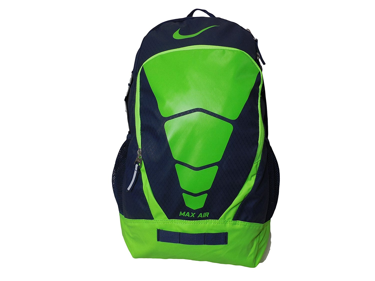 2a05d0190cd8 Get Quotations · Nike Max Air Vapor Backpack Midnight Navy Electric Green  BZ9511-433