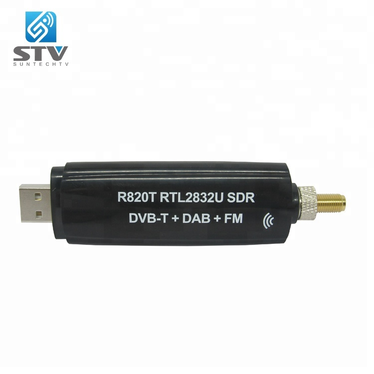 R820T2 RTL2832 SDR USB Receiver Dongle