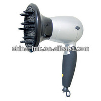 2016 Popular Quiet DC Travel Hair dryer With Diffuser HD1200