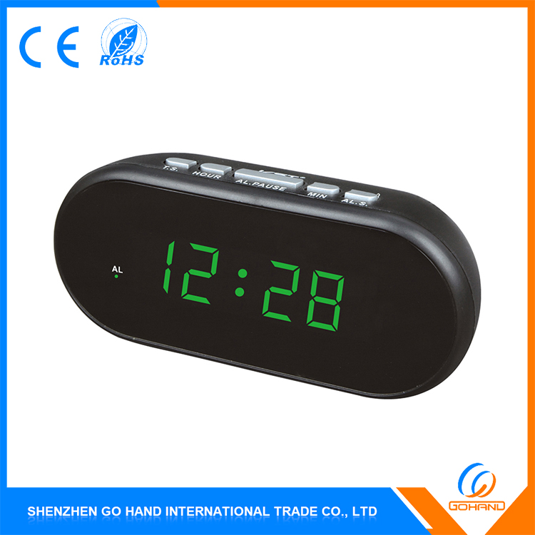 China Manufacturer Hot Sale Car Alarm Digital Table Radio Clock