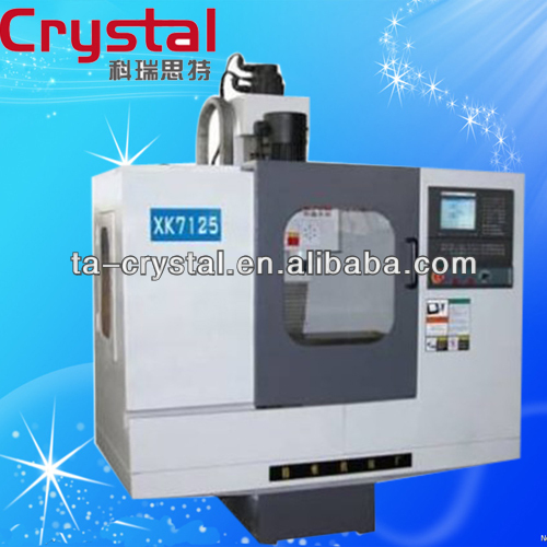 small cnc milling machines specifications XK7125
