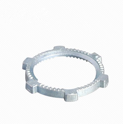 Made in North America Quantity: 1000 pcs 1//2 Conduit Lock Nut Zinc Alloy