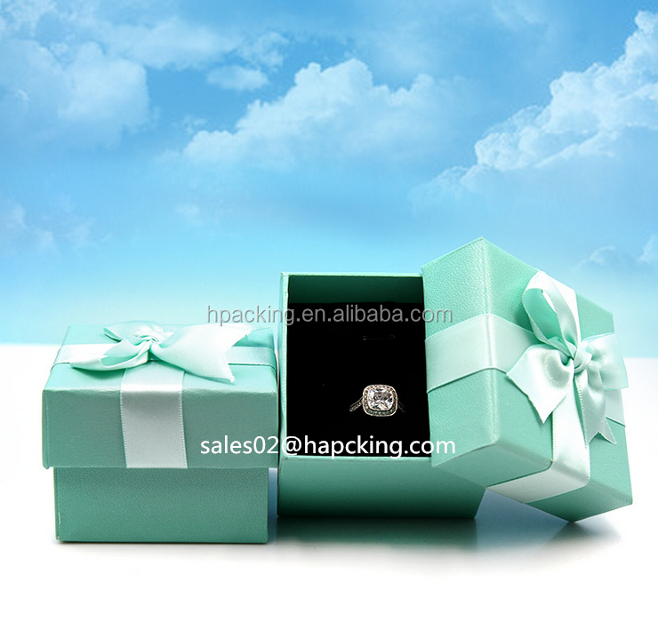 Square Exquisite Jewelry Gift Boxes With Lid