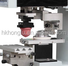 HK Semi automatic manual ink cup tampo pad printing machine