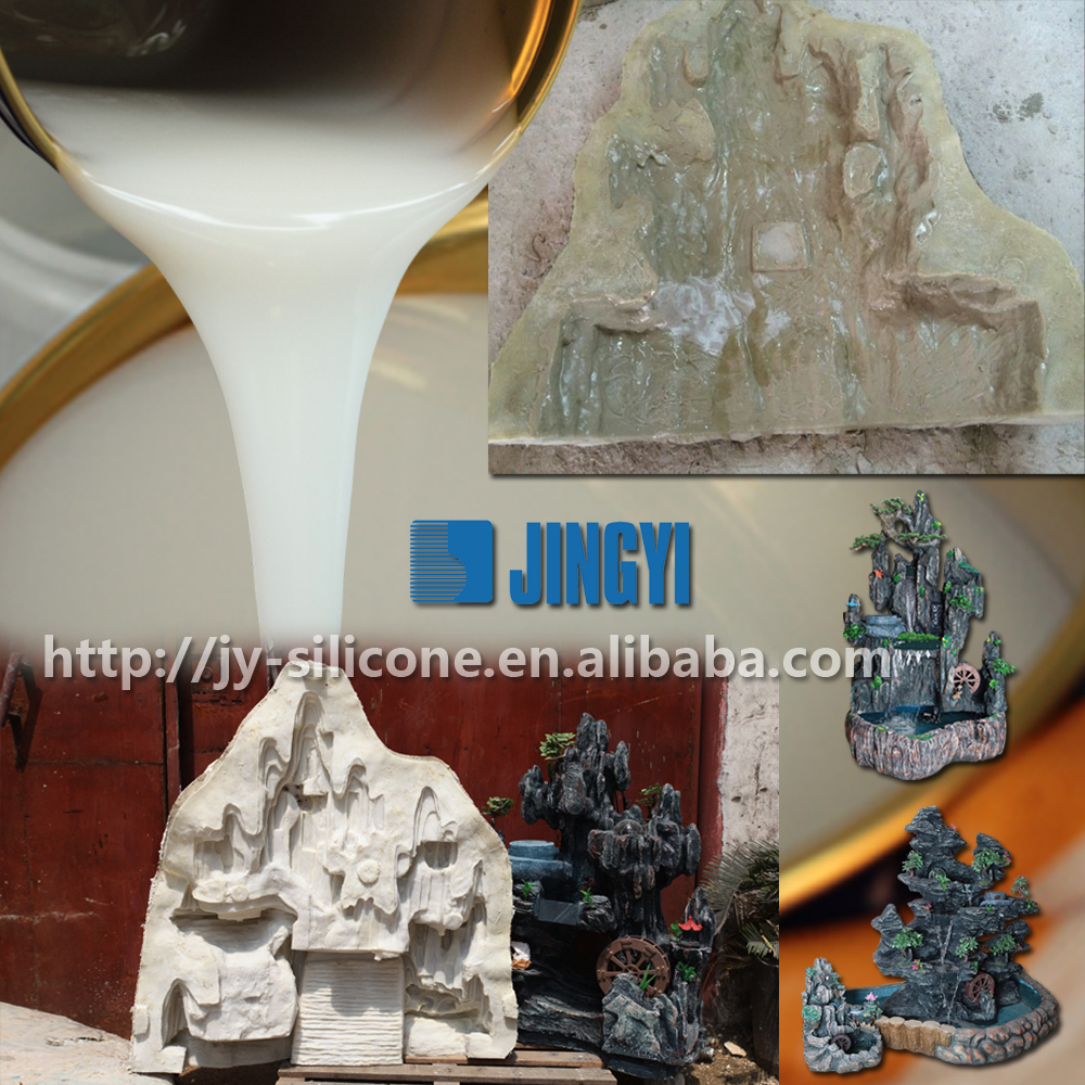 manufacturer of rtv liquid silicone of mold making for polyurethane jewelry casting