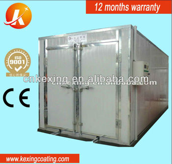 electric powder baking oven