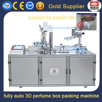 Fully Automatic Corrugated Box Adjustable 3d Packing